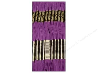 DMC Six-Strand Embroidery Floss #3837 Ultra Light Dark Lavender (12 skeins)