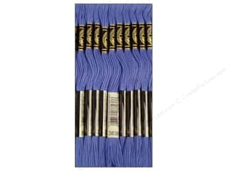 DMC Six-Strand Embroidery Floss #3838 Dark Lavender Blue (12 skeins)