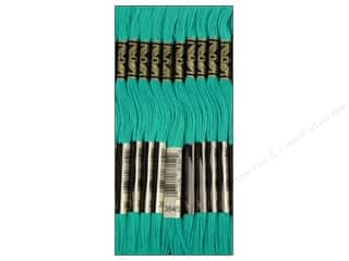 DMC Six-Strand Embroidery Floss #3845 Medium Bright Turquoise (12 skeins)