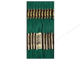 DMC Six-Strand Embroidery Floss #3847 Dark Teal Green (12 skeins)