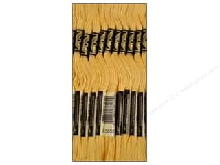 DMC Six-Strand Embroidery Floss #3855 Light Autumn Gold (12 skeins)