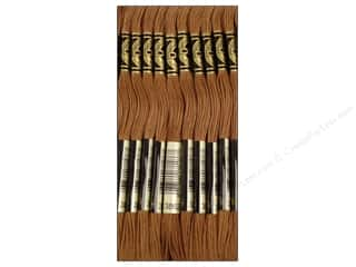 DMC Six-Strand Embroidery Floss #3862 Dark Mocha Beige (12 skeins)