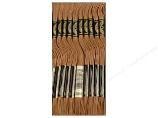 DMC Six-Strand Embroidery Floss #3863 Medium Mocha Beige (12 skeins)
