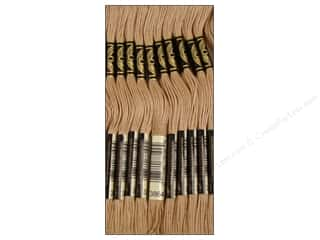 DMC Six-Strand Embroidery Floss #3864 Light Mocha Beige (12 skeins)