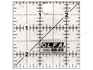 "Rulers Olfa Frosted Acrylic Ruler: Olfa Frosted Acrylic Ruler 2.5""x 2.5"" Square"