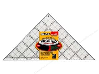 Olfa Frosted Acrylic Ruler 6.5&quot; Right Triangle