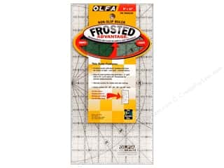 "Rulers Olfa Frosted Acrylic Ruler: Olfa Frosted Acrylic Ruler 6""x 12"""