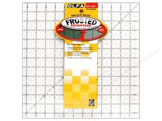 "Rulers Olfa Frosted Acrylic Ruler: Olfa Frosted Acrylic Ruler 12.5""x 12.5"" Square"