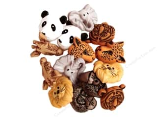 Jesse James Buttons Animals: Jesse James Dress It Up Embellishments Animal World