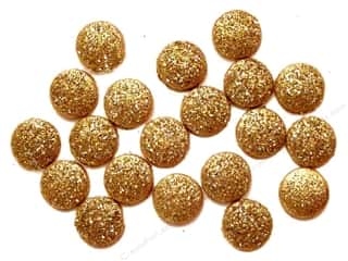 Jesse James Embellishments Small Glitter Dots 14 Karat
