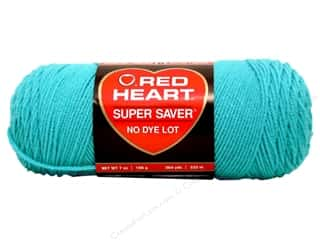 Yarn & Needlework Red Heart Super Saver Yarn: Red Heart Super Saver Yarn #0512 Turqua 7 oz.