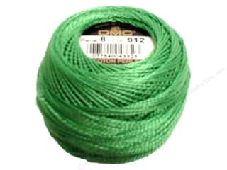 DMC Pearl Cotton Ball Size 8 #912 Light Emerald Green (10 balls)
