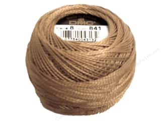 Pearl Cotton Brown: DMC Pearl Cotton Ball Size 8 #841 Light Beige Brown (10 balls)