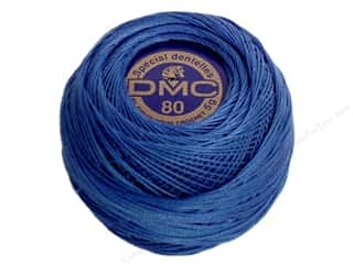DMC Brilliant Tatting Cotton Sz 80 Delft Blue (10 balls)