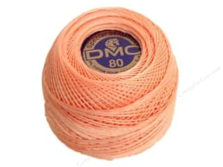 Tatting DMC Brilliant Tatting Cotton Size 80: DMC Tatting Cotton Size 80 #353 Peachy Pink (10 balls)