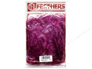 Feathers: Zucker Feather Turkey Flats 0.5oz Purple