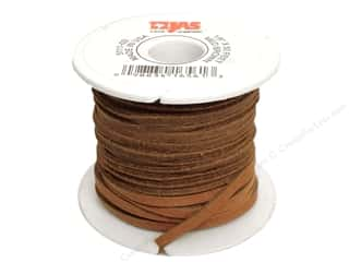 Leather Factory Latigo Lace Big 1/8&quot;x 50ft Med Brn (50 feet)
