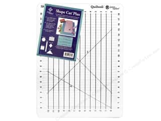 June Tailor Ruler Shape Cut Plus Quiltools 12x18