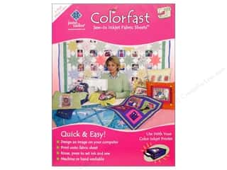 June Tailor: June Tailor Inkjet Fabric Sheet Colorfast Wht