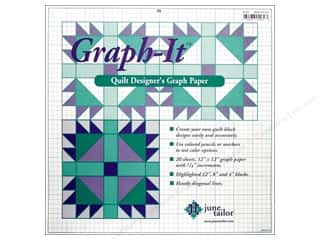 June Tailor Quilt Designer Graph-It Graph Paper