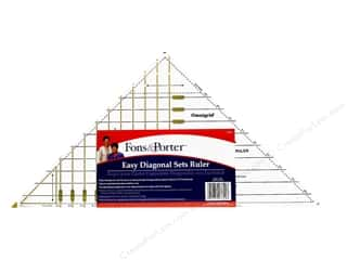 Fons & Porter Ruler Easy Diagonal Sets