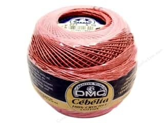 cotton yarn: DMC Cebelia Crochet Cotton Size 11 #223 Medium Dusty Pink