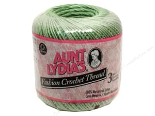 Pearl Cotton $21 - $23: Aunt Lydia's Fashion Crochet Thread Size 3 #625 Sage