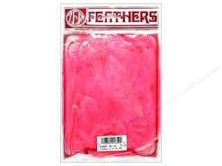 Feathers Doll Making: Zucker Feather Turkey Marabou Large .25 oz Pink Orient