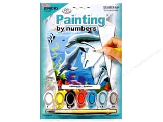 Weekly Specials Painting: Royal Paint By Number Mini Junior Dolphins