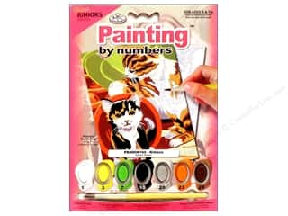 Royal Rub Ons $8 - $13: Royal Paint By Number Mini Junior Kittens