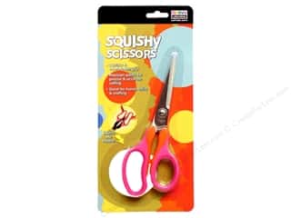 Uchida Squishy Scissors Pink/Orange