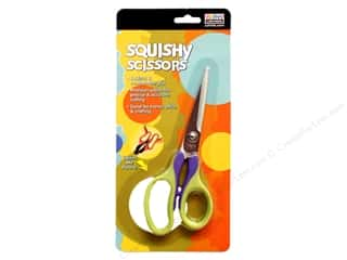 Uchida Squishy Scissors Green/Purple