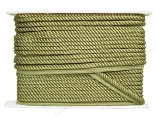 "Conso Princess Cord with Lip 3/8"" Spring Green (24 yards)"