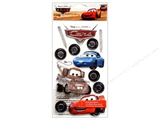Disney Stickers: EK Disney Sticker 3D Cars