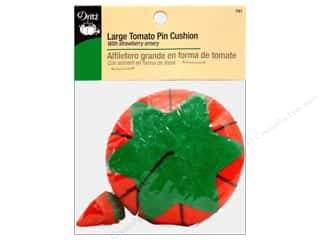 Fruit & Vegetables Dritz Pin Cushion: Large Tomato Pin Cushion by Dritz 4 in.