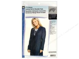 Dritz Shoulder Pads 1&quot; Covered Set-In Black