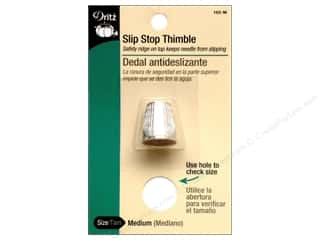 Holiday Sale: Dritz Thimbles Slip Stop Medium