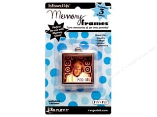 "Ranger Inkssentials Memory Frames 1.5""x 1.5"" Polished Chrome 3pc"