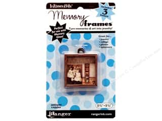 "Ranger Inkssentials Memory Frames 1.5""x 1.5"" Antique Copper 3pc"