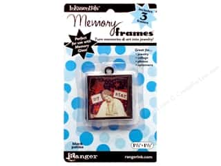 "Ranger Inkssentials Memory Frames 1.5""x 1.5"" Black Patina 3pc"