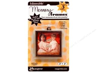 "Ranger Inkssentials Memory Frames 2""x 2"" Antique Copper 3pc"
