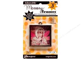 "Ranger Inkssentials Memory Frames 2""x 2"" Black Patina 3pc"