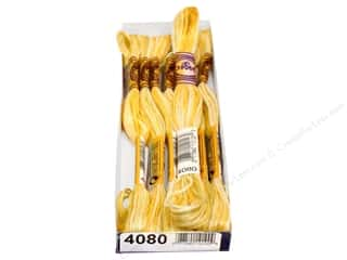 DMC 8.7 yd: DMC Color Variations Floss 8.7 yd. #4080 Daffodil Fields (6 skeins)