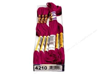 DMC 8.7 yd: DMC Color Variations Floss 8.7 yd. #4210 Radiant Ruby (6 skeins)