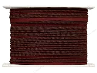 "Conso Brown: Conso Princess Cord with Lip 3/16"" Sable Brown (24 yards)"