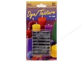 Candle Making Supplies $3 - $4: Yaley Candle Dye Block 3/4oz Blue