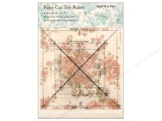 Quilt in a Day $4 - $8: Quilt In A Day Rulers Fussy Cut Trio