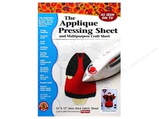 Appliques Craft & Hobbies: Bear Thread Designs Applique Pressing Sheet 13 x 17 in.