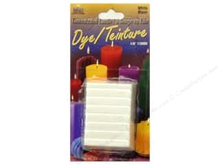 Yaley Craft Home Decor: Yaley Candle Dye Block 3/4oz White