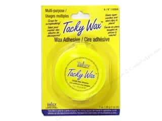 Glues Adhesives & Tapes: Yaley Tacky Wax 1oz